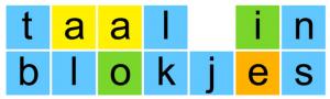 logo Taal in Blokjes