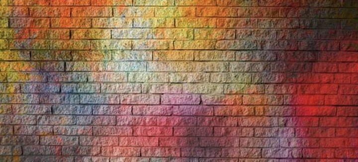 stevig muurtje
