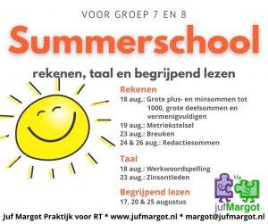 Summerschool nieuws